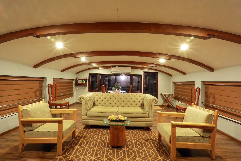 Lake Ripples Ultra Luxury Houseboat Kerala
